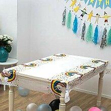 FGHOMEAQZB Geburtstagsfeier Tischdecke
