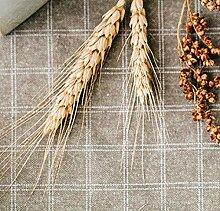 FGHOMEAQZB Tischdecke aus pastoraler Baumwolle,