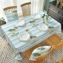 FGHOMEAQZB Tischdecke im nordischen Stil