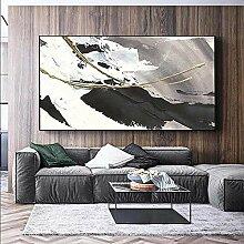 FGHSD Kunstplakat Moderne abstrakte Leinwand