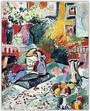 FGHSD Wandkunst Bild Henri Matisse 《Interieur
