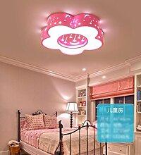 FGSGZ Deckenleuchte Led Kinder Lampe Schlafzimmer Kreative Spielplatz Rosa Weißes Licht Durchmesser 53CM