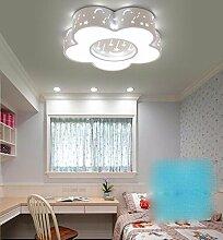 FGSGZ Deckenleuchte Led Kinder Lampe Schlafzimmer Kreative Spielplatz Weiß Versprechen Dimmen Fernbedienung Durchmesser 46CM