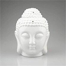 FGUD Statue Ornamente Skulpturen Kopf Keramik