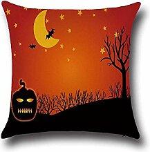 FHCGBZ 1 Stücke Halloween Kürbis Bat Owl Muster