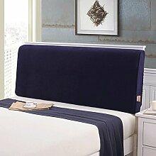 FHK Rückenlehne Bedside Soft Bag Kissen Große Rückenlehne Doppelbett Kopf Abdeckung Bett Kissen Rückenlehne Abnehmbare waschbar Taillenkissen ( Farbe : B , größe : 120*10*60 cm )