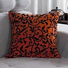 FHK Rückenlehne Sofa Kissen Büro Auto Kissen Büro Bett zu erhöhen Dual-Use-Kissen Taillenkissen ( Farbe : B , größe : 45*45cm )