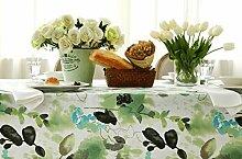 FHK Tischdecke Eine Vielzahl von amerikanischen Landschaft Pastoral Druck Tischdecke westlichen Tisch Tisch dicke Tischdecke Kaffee Tuch Dekorative Tischdecken ( Farbe : E , größe : 90*130cm )