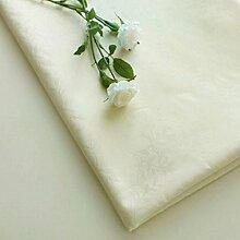 FHK Tischdecke Europäische minimalistische Tuch Tischdecke wasserdicht anti-hot Öl-freie Waschung reine Farbe Tisch Tischdecke rechteckige Kaffee Tuch Dekorative Tischdecken ( Farbe : Beige , größe : 100*100cm )