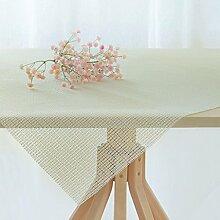 FHK Tischdecke Tisch PVC Schaum rutschfeste Matten Tischtücher Couchtisch Tuch Nicht rutschmatten Matten rutschfeste Tischmatten Anti - Rutsch - Mesh Dekorative Tischdecken ( größe : 200*140 )