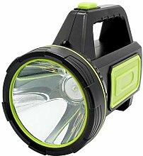 Fhlamp LED -Taschenlampe, USB -aufgeladene