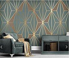FHOMEY Tapete Wandbild 3D Abstrakte Geometrische