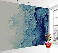 FHOMEY Tapete Wandbild 3D Blue Marble Pattern