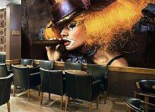 FHOMEY Tapete Wandbild 3D Großes Wandbild Mode