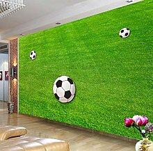 FHOMEY Tapete Wandbild 3D Grün Rasen
