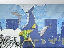FHOMEY Tapete Wandbild 3D Junge Mädchen Wandbild