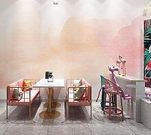 FHOMEY Tapete Wandbild 3D Milchtee Kaffeestube