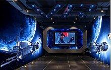 FHOMEY Tapete Wandbild 3D Sinn Sterne Wand Kino