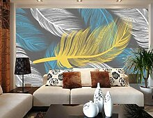 FHOMEY Tapete Wandbild 3D Tierische Bunte