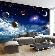 FHOMEY Tapete Wandbild 3D Universum Sternenhimmel