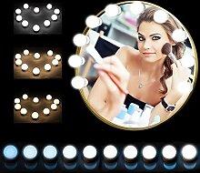 FHzytg 10 Hollywood Spiegel Leuchten für Spiegel,