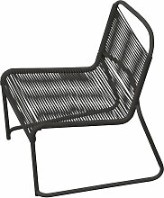Fiam - Lido Lounge-Sessel, schwarz