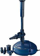 Fiap Aqua Active Mini 3.000 Hochwertige Springbrunnen-/Teich Filter-/Wasserspielpumpe für Bachlauf, Gartenteich Fontäne, Leistungsstarke für Wasserspiel