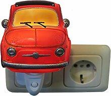 Fiat 500 Nacht Licht mit LED Licht - ro