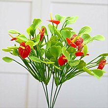 FIBVGFXD Simulierter Blumenstrauß Künstliche