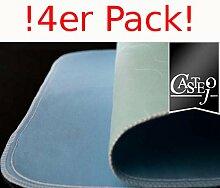 Fiducia Inkontinenzunterlage Grün-Blau Oder Blau-Weiß ca. 90x70 cm von Castejo Wiederverwendbar Waschbar Inkontinenzauflage Krankenunterlage Matratzenschutz CA3302/C (4) Sofort Lieferbar