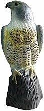 FiedFikt Gartendeko Adler Abschreckung Statue