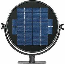 fiejns-zjy Solar-Vogeltränke, 3 W, 7 Düsen,
