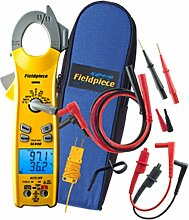 Fieldpiece SC440 True RMS Clamp Meter with Temperature, Inrush Current, Capacitance and Backlight by Fieldpiece
