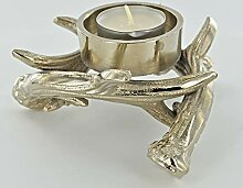 Fiesta Studios Teelichthalter aus Metall, Hirsch,
