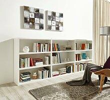 fif möbel Raumteilerregal Toro, 9 Fächer, Breite