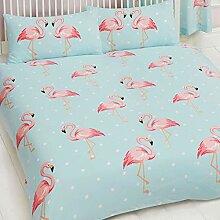 FiFi Flamingo-Bettwäsche-Set für Kinder, für