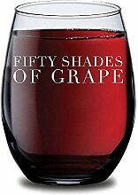 Fifty Shades of Grape Weinglas ohne Stiel,