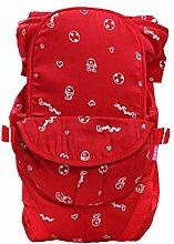 FIFY Babytrage Baby Schlinge mit Baumwolle zurück