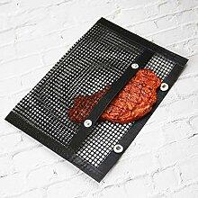 FIGO 2 Pack Reusable BBQ Grill Mesh Bag High