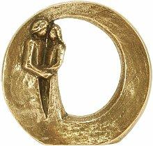 Figur aus Bronze mit einem Liebes-Paar -Du bist