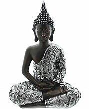 Figur Buddha braun