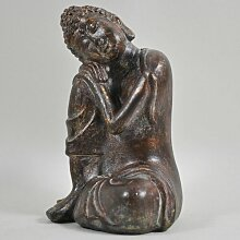 Figur Buddha ruhend World Menagerie