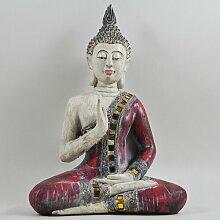 Figur Buddha sitzend World Menagerie
