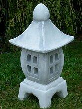 Figur japanische Laterne H 45 cm Gartendeko aus Beton
