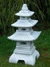Figur japanische Laterne H 47 cm Gartendeko aus