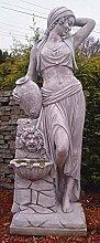 Figur mit Brunnen Dafne, Steinfigur, Gartenfigur,