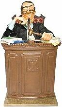 Figur Richter The Judge Anwalt Rechtsanwalt Notar