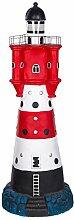 Figur, Riesiger Leuchtturm mit Solarlampe SYB1684,