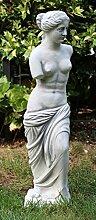 Figur Venus von Milo antik grau aus frostsicherem