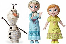 Figuren Elsa, Anna und Olaf–Die